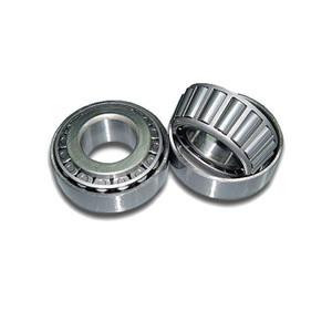 Cage with high load tapered roller bearings