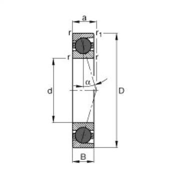 FAG Spindellager - HCB71917-C-T-P4S
