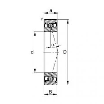 FAG Spindellager - HCS71906-C-T-P4S