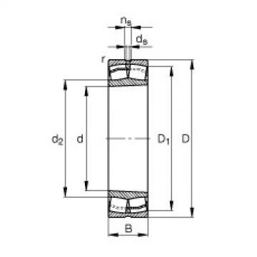 FAG Pendelrollenlager - 21316-E1-XL-K