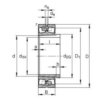 Rolando 239/900-K-MB + AH39/900-H FAG