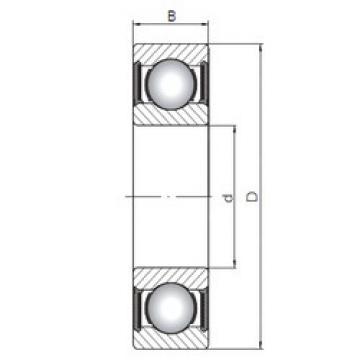 Bantalan 61903-2RS ISO