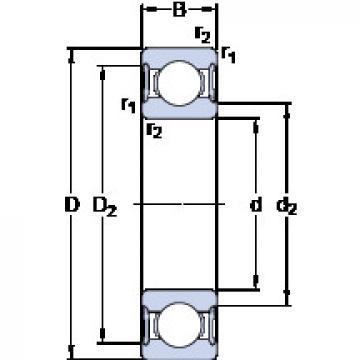 Bantalan 61904-2RS1 SKF
