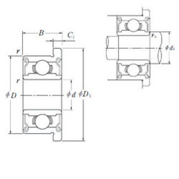 المحامل F695-2RS ISO