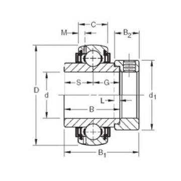 roulements GN203KLLB Timken