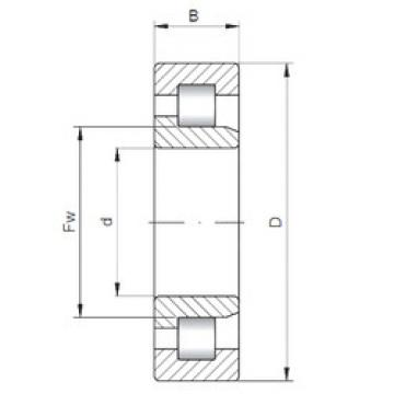 Rolamento NJ3038 ISO
