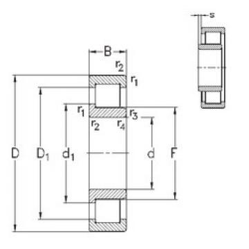 Rolamento NJ2216-E-TVP3 NKE
