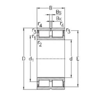 Rolamento NNCL48/500-V NKE