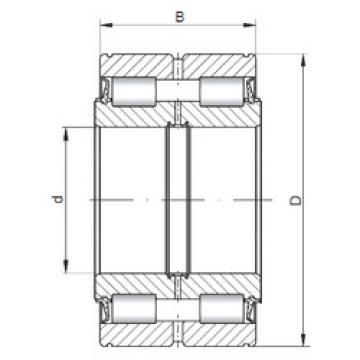 Rolamento NNF5017 V ISO