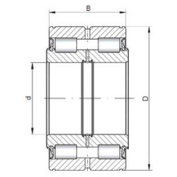 Rolamento NNF5018 V ISO