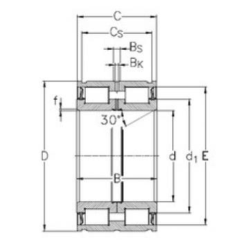 Rolamento NNF5017-2LS-V NKE