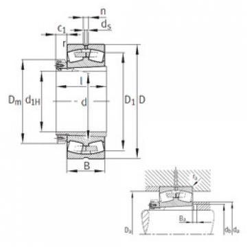 roulements 239/560-B-K-MB+H39/560 FAG