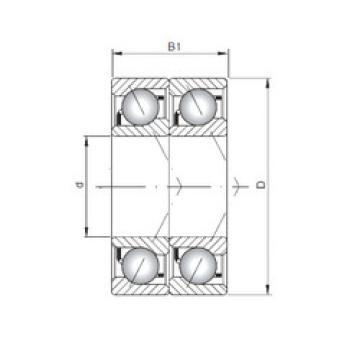 roulements 7019 B-UD CX