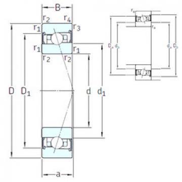 підшипник HX50 /S 7CE1 SNFA