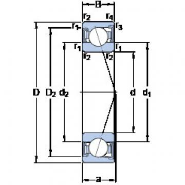 підшипник S7013 ACD/HCP4A SKF