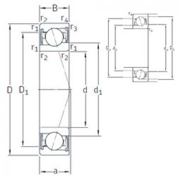 roulements VEB 30 /S/NS 7CE3 SNFA