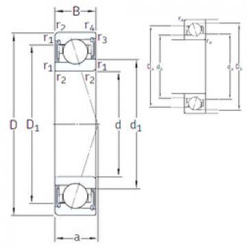 roulements VEB 40 /S 7CE1 SNFA