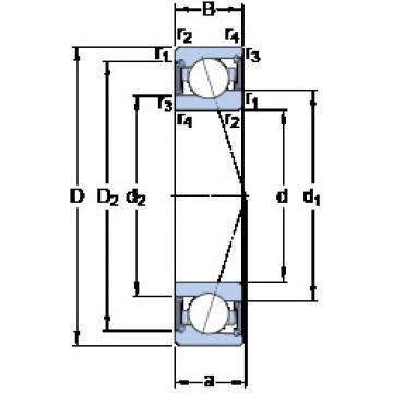 підшипник S71910 CE/HCP4A SKF