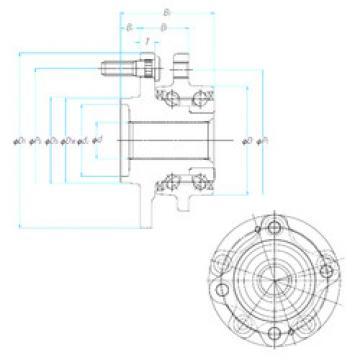 Подшипник ZA-58BWKH06E2-JB--01 NSK
