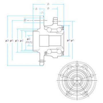 Подшипник ZA-57BWKH04D1-Y-01 E NSK