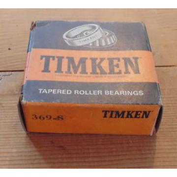 Timken Original and high quality  369-S Tapered Roller Made in USA 369S