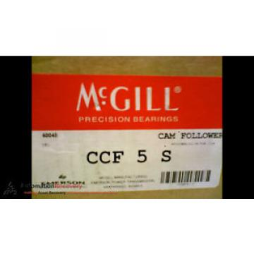 MCGILL Original and high quality CCF 5 S CAM FOLLOWER 5 INCH OUT SIDE ROLLER DIAMETER #173438