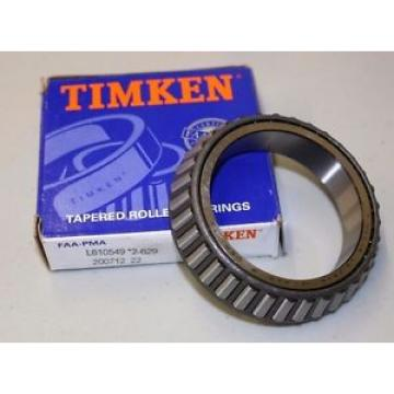 Timken Original and high quality  Tapered Roller , PN L610549