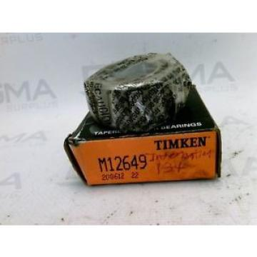 Timken Original and high quality ! M12649 Tapered Roller