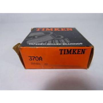 Timken Original and high quality  370A Tapered Roller ! !
