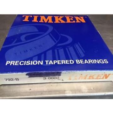 Timken Original and high quality 792-B 3  Precision Taper