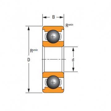 Timken Original and high quality  6307 Standard 6000 Series Deep Groove Ball Bearing