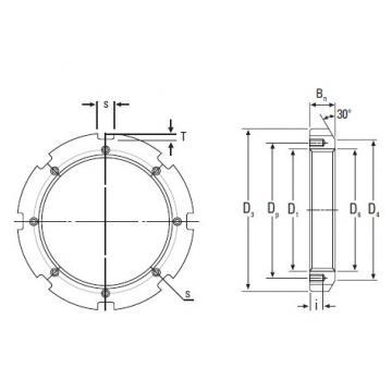 Timken Original and high quality  HM3188 Metric Locknut