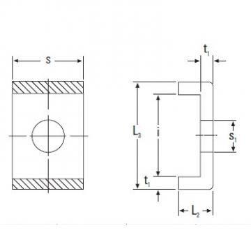 Timken Original and high quality  MS31/500 Metric Lockplate