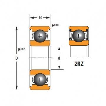 Timken Original and high quality  6210-2RZ-C3 Standard 6000 Series Deep Groove Ball Bearing