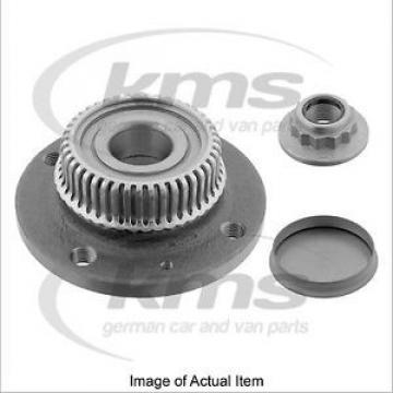 WHEEL Original and high quality HUB INC BRG & ABS RING Seat Arosa Hatchback 1997-2001 1.7L – 60 BHP Top Fag Bearing