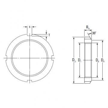 Timken Original and high quality  KM 11 Metric Locknut