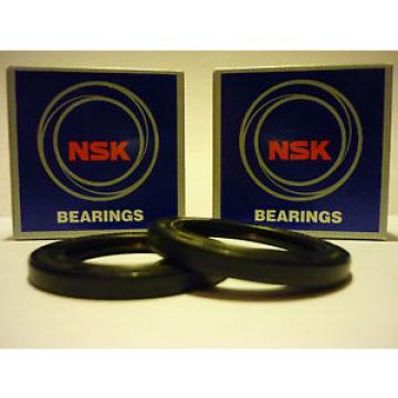 HONDA Original and high quality NTV700 DEAUVILLE 06-08 OEM SPEC NSK COMPLETE FRONT WHEEL BEARING & SEALS
