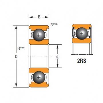 Timken Original and high quality  6211-2RS Standard 6000 Series Deep Groove Ball Bearing