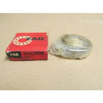 NIB Original and high quality 60062RSR RUBBER SEALED 6006 2RSR 6006 2RS 30x55x13 mm Fag Bearing