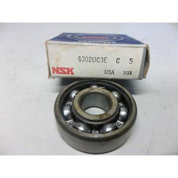 NEW Original and high quality NSK DEEP GROOVE BALL BEARING 6302UC3E C5 6302