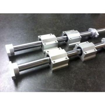 x2 Original and high quality 20mm Rails + x4pcs SC Bearings + x4 SHF Shaft Supports CNC XYZ – Various