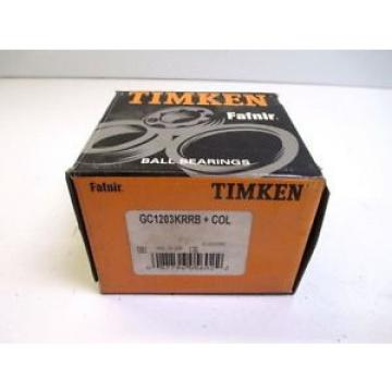 Timken Original and high quality  GC1203KRRB+COL DEEP GROOVE BALL MANUFACTURING CONSTRUCTION