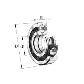 QJ311-MPA Original and high quality Four point contact s QJ3, main dimensions to DIN 628-4, sep Fag Bearing