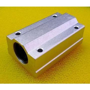 4PCS Original and high quality SCS10LUU 10mm Metal Linear Ball Bearing Pellow Block Unit FOR CNC SC10LUU