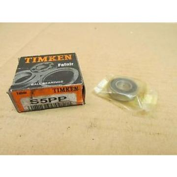 """Timken Original and high quality  S5PP RUBBER SEALED S5 PP 1/2 x 1-1/8 x 5/16"""""""