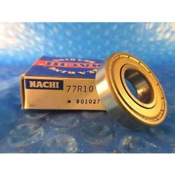 "Nachi Original and high quality 77R10, = R102Z, R10Z7 SKF, NTN, NSK Single Row Radial Bearing; 5/8"" ID"