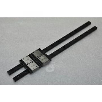 IKO Original and high quality Linear Bearing LM GUIDE LWL7B 198mm 2Rails 4Blocks NSK THK CNC Router