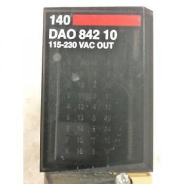 SCHNEIDER Original and high quality AUTOMATION TSX QUANTUM 140 DAO 842 10 AC OUT MODULE 100-230V 4X4