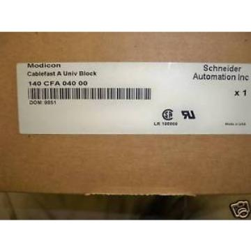 Schneider Original and high quality Automation Modicon Cablefast A Univ Block New