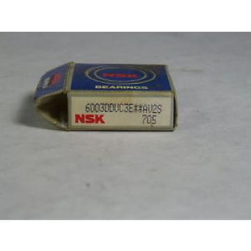 NSK Original and high quality 6003DDUC3E**AV2S705 Ball Bearing NEW